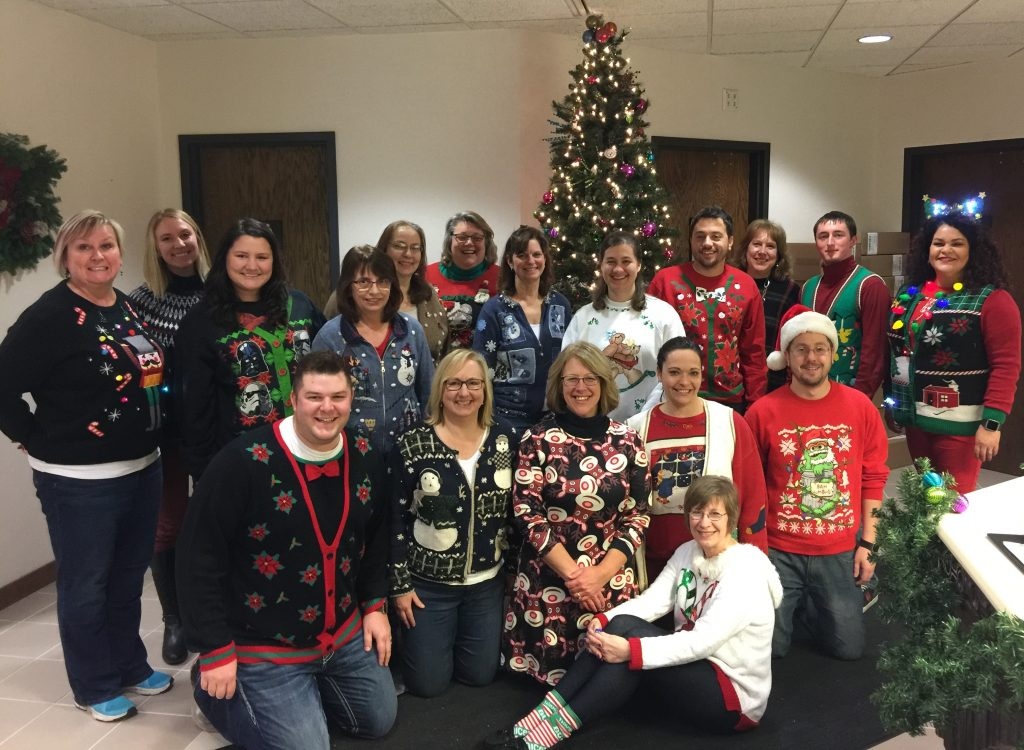 Festive Sweater Party 2016