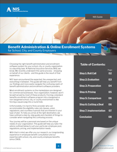 Buyers Guide: Benefit Administration and Online Enrollment Systems