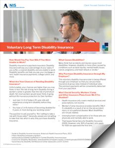 Voluntary Long Term Disability Insurance