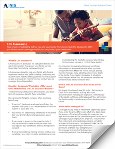 Employer Paid Life Insurance